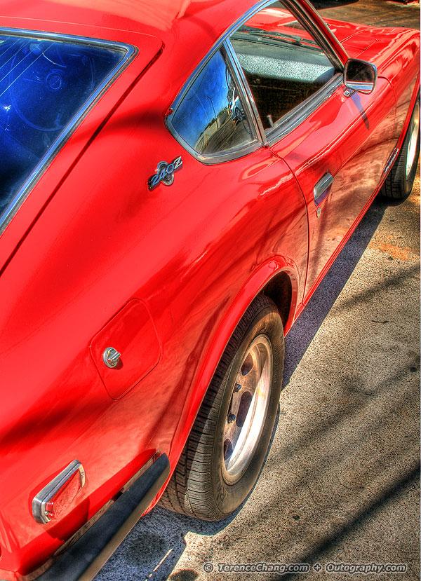 Red Datsun 240Z