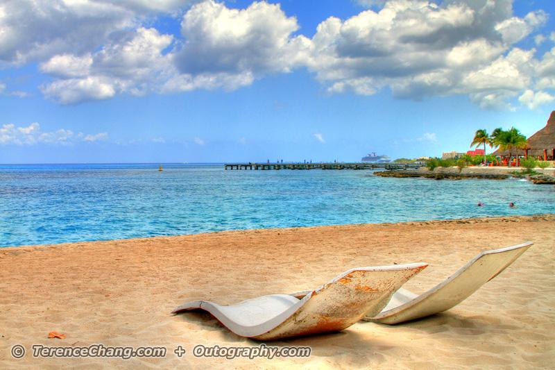 HDR Cozumel Beach