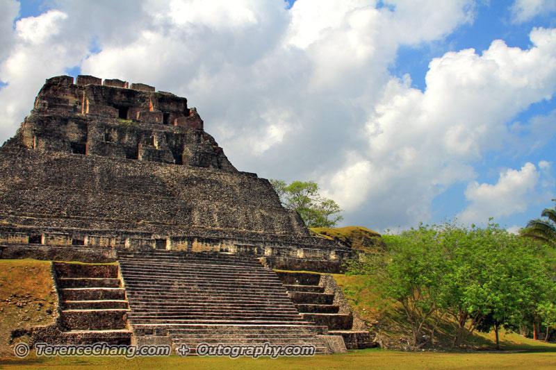Belize Xanantunich Maya Temples