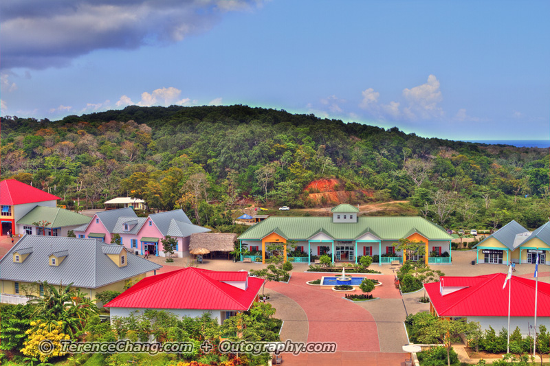 Ghost Town At Mahogany Bay, Roatan