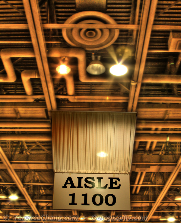 Look Up Aisle 1100 – HDR