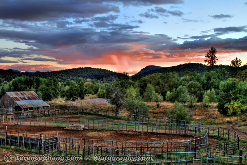 Cherry Creek Ranch Sunset – HDR