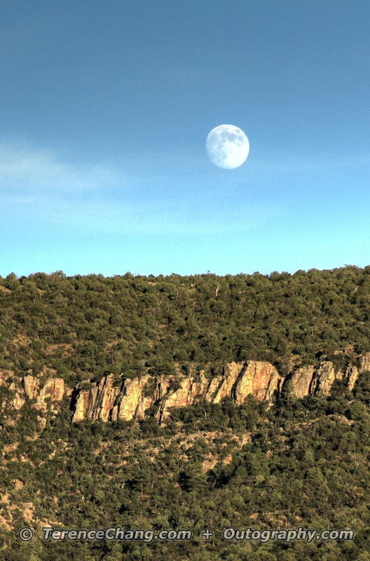 Full Moon At Cherry Creek Ranch