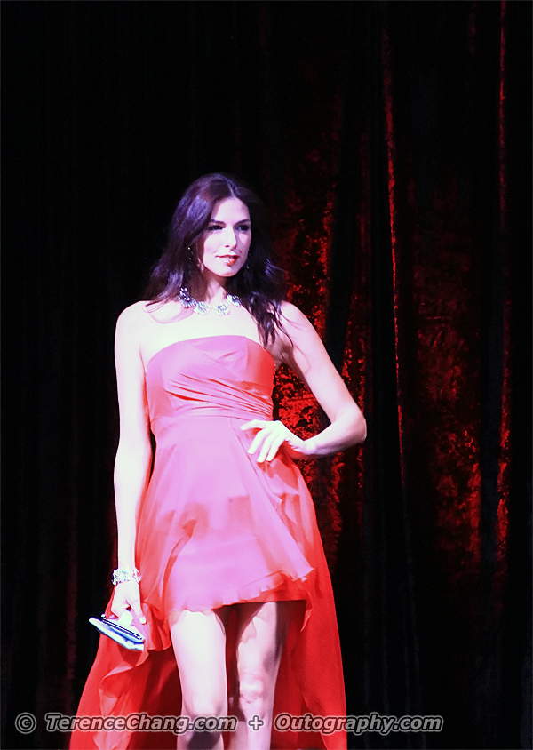 Fashion Lady In Red