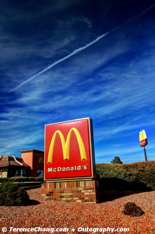 Pit Stop At McDonald HDR