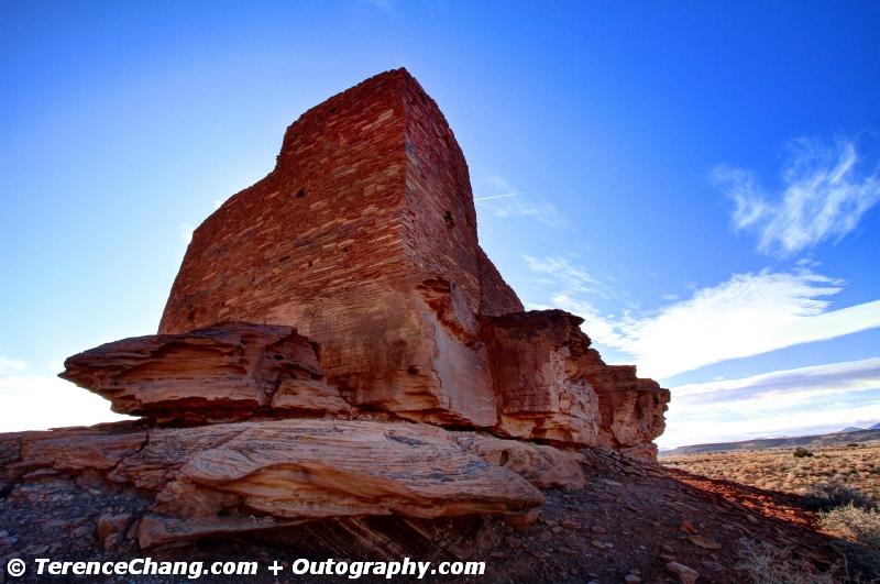 Lomaki Pueblo And Lomaki Pueblo In Wupatki National Monument