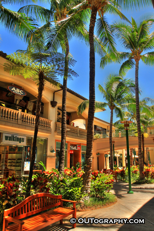 HDR Luxury Mall At Maui – Shops At Wailea