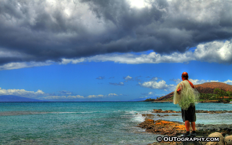 Fish Or Not To Fish At Maui – HDR