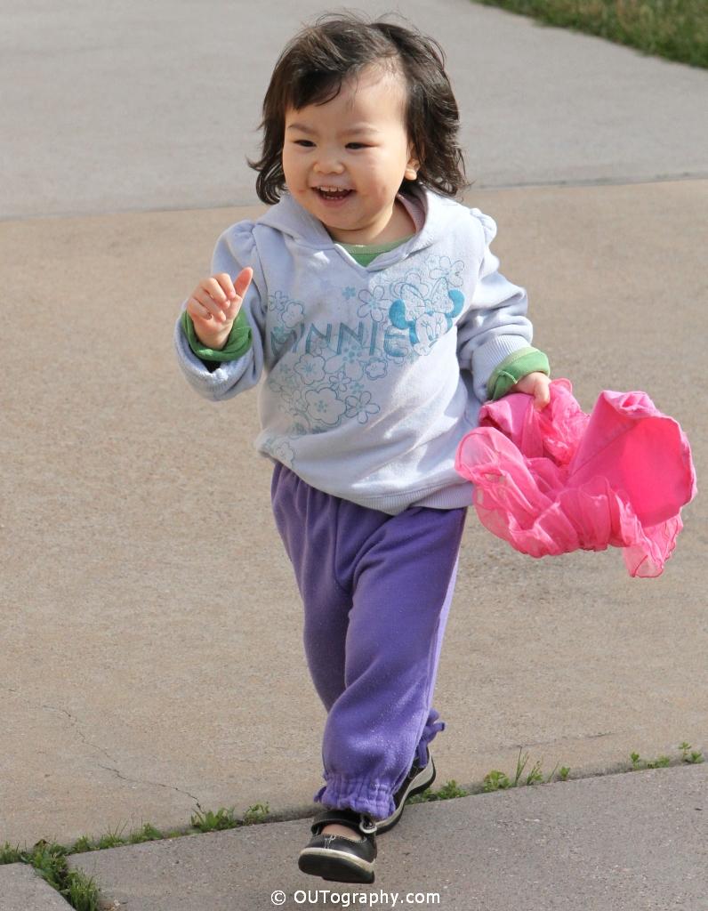 Happy Kid Running