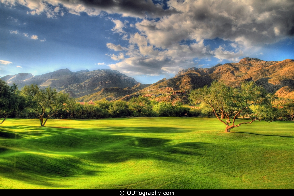 Golf Cours At Lodge - Vetana Canyon Tucson
