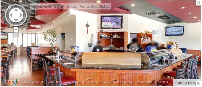 Orient Sushi Restaurant Virtual Tour In Gilbert AZ