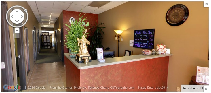 Pacific Foot Spa Virtual Tour
