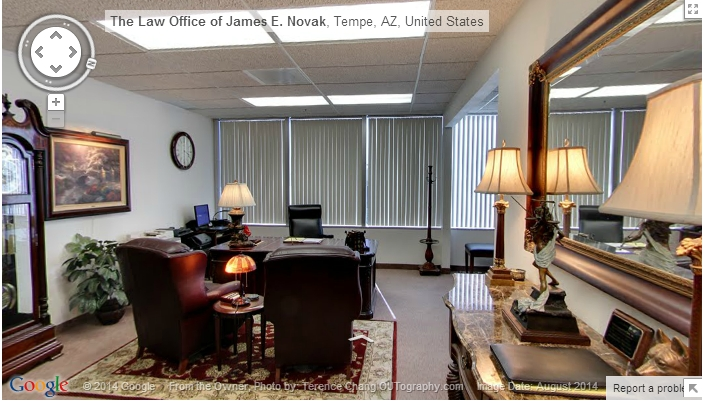 DUI Attorney James Novak Office Virtual Tour