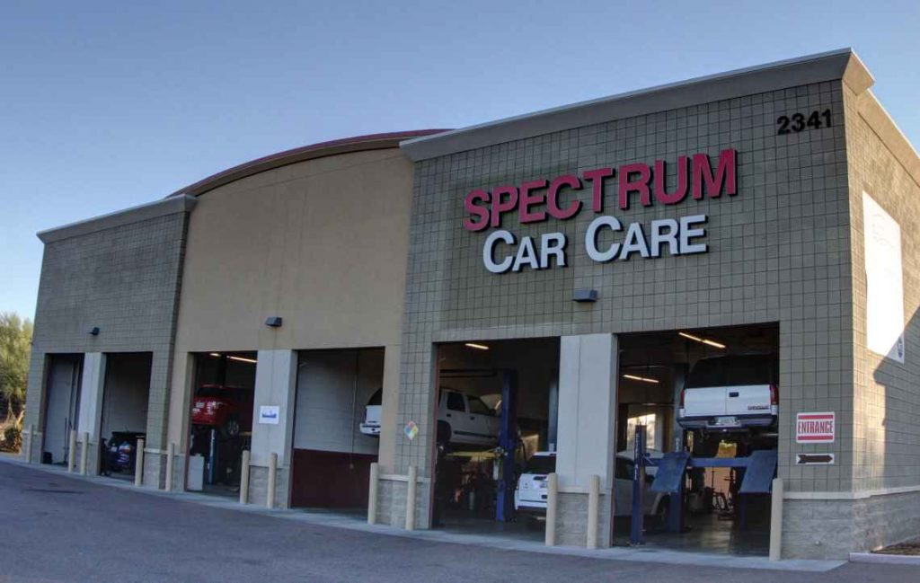 Spectrum Car Care Center Google Street View